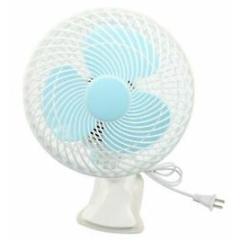 220V Portable Clip Fan For Table Bed Wall 2 Gears Small Mute Swing Cooling Fans