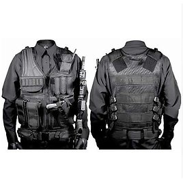 US $24.47 28% OFF|Hunting Security Clothes Swat Tactical Vest Swat Jacket Chest Rig Multi Pocket Molle Army CS Hunting Vest Camping Accessories|Self Defense Supplies| - AliExpress