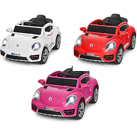 Kids' Electric Remote Control Car with LED Lights