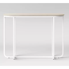 Tiverton Pill Console Table White - Project 62™