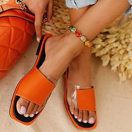 US $10.45 39% OFF 2020 Women's Slippers Summer Females Patchwork Open Toe Flat Casual Sandals Ladies Color Matching Outdoor Beach Flat Slippers Slippers  - AliExpress