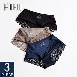 US $8.73 3% OFF|3 Pcs Seamless Panties For Woman Underwear Sexy Lace Briefs Solid Female PantyHot Sale Underwear Women Sexy Lace M XXL BANNIROU|women's Panties| - AliExpress