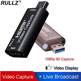 US $8.87 16% OFF|Rullz 4K Video Capture Card USB 3.0 2.0 HDMI Video Grabber Record Box for PS4 Game DVD Camcorder Camera Recording Live Streaming|Video & TV Tuner Cards| - AliExpress