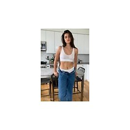 Out From Under Recycled Cotton Long Line Bra