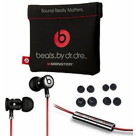 BLACK / SILVER UrBeats By Dr Dre Earbuds with Mic In-Ear Beats Headphones 190198899941