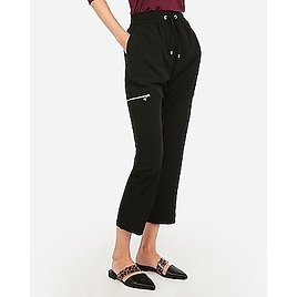 High Waisted Pull-on Cargo Utility Jogger Pant