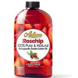 4oz Rosehip Oil By Artizen (100% PURE & NATURAL) - Cold Pressed & Fresh 819252021035