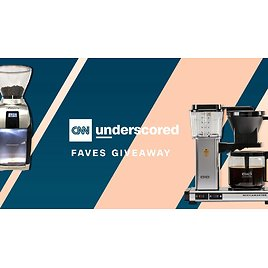 Win a Moccamaster Coffee Brewer and Baratza Coffee Grinder in The Underscored Faves Giveaway