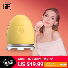 US $19.99 60% OFF|Free Coupon $2 InFace Skin Care Device Face Care Tool Tactile Vibration Massager Sonic Wrinkle Remover Facial Mesotherapy|Ion Device| - AliExpress