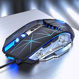 US $7.11 45% OFF|Pro Gaming Mouse 3200DPI Adjustable Silent Mouse Optical LED USB Wired Computer Mouse Notebook Game Mice for Gamer Home Office|Mice| - AliExpress