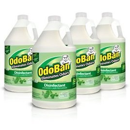 4- Pack OdorBan Odor Eliminator and Disinfectant Concentrate, Eucalyptus Scent - Sam's Club
