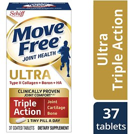 Ove Free Ultra Triple Action - 37 Count - Type II Collagen, Boron, and HA