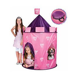 Discovery Kids Play Princess Castle Hideaway Tent