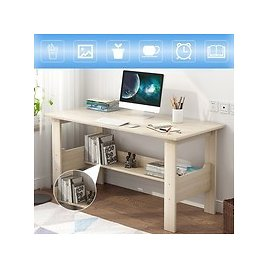 Home Desktop Computer Desk,Simple Modern PC Laptop Writing Study Table with Storage Shelves Gaming Computer Table Workstation Desktop for Home Office Furniture | Wish