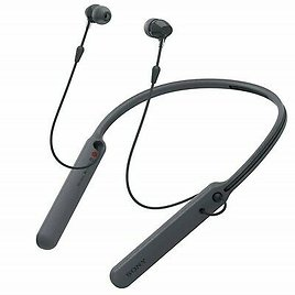 Get 65% Off For a Sony C400 In-Ear Earbuds Headphones Bluetooth Neckband Headset Mic, Black 4548736063679