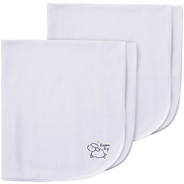 2-Pack Neutral Lamb Thermal Receiving Blankets