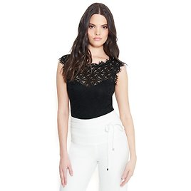 Short Sleeve All Over Lace Bodysuit