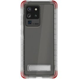 Clear Galaxy S20, S20+ Plus, S20 Ultra Case with Kickstand | Ghostek Covert 2020