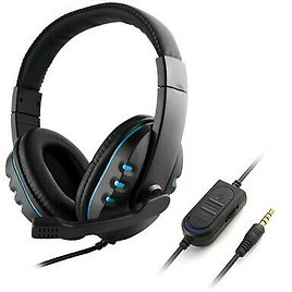 3.5mm Gaming Headset Headphones with Mic for PlayStation 4, Xbox One & PC