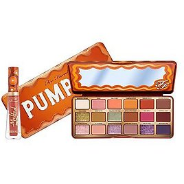 Too Faced Pumpkin Spice Eye Shadow and Melted Matte Lip Set - 9709310 | HSN