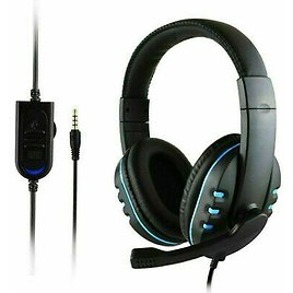 Gaming Headset Stereo Surround Headphone 3.5mm Wired Mic For Laptop PS4 Xbox Pf