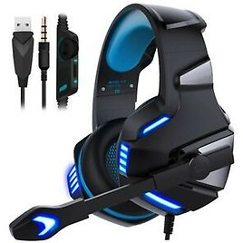 3.5mm LED Gaming Headset Mic Headphones Stereo Surround for PS4 Xbox ONE 360 PC