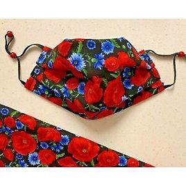 Floral FACE MASK DOUBLE LAYER FABRIC MASKS WASHABLE REUSABLE High Quality Cotton