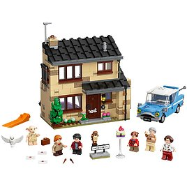 LEGO Harry Potter 4 Privet Drive Collectible Playset