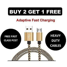 50cm Power Bank Short Aluminum Micro USB Data&Sync Charger Cable For Android