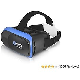 Top VR Headset Compatible with IPhone & Android Phone - Universal Virtual Reality Goggles - Play Your Best Mobile Games