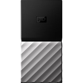 WD My Passport SSD 1024GB External USB 3.1 Gen 2 Portable Solid State Drive with Hardware Encryption Black WDBKVX0010PSL-WESN