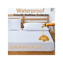Anti-mite Bed Mattress Protection Pad Smooth Waterproof Mattress Protector Cover for Bed Wet Breathable Hypoallergenic Mattress (Without Pillowcase) | Wish