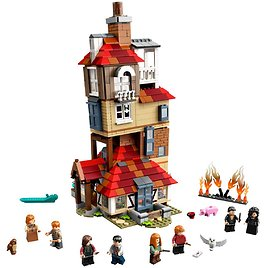 Attack On The Burrow 75980 | Harry Potter™ | Buy Online At The Official LEGO® Shop US