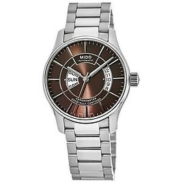 New Mido Belluna Automatic Brown Dial Stainless Men's Watch M001.431.11.291.02