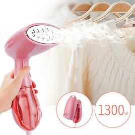 Portable Electric Iron Garment Fabric Clothes Steamer Brush