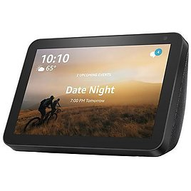 """Amazon Echo Show 8 Smart 8"""" Touchscreen Display with Alexa and Voucher - 9637875 