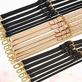 Happy Real Leather Replacement Adjustable Shoulder Crossbody Strap Handbags Purse Lady