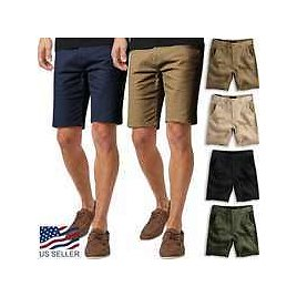 Wholesale Men's Essential Chino Stretch Oxford Summer Flat Front Dress Shorts From M.alibaba.com