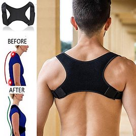 US $4.96 35% OFF Spine Posture Corrector Back Support Belt Shoulder Bandage Back Spine Posture Correction Humpback Band Corrector Pain Relief Back Support  - AliExpress