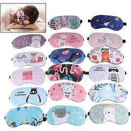 US $1.08 31% OFF|1pc Sleeping Mask Eyepatch Eye Cover Cotton Creative Lovely Cartoon for Eye Travel Relax Sleeping Aid Eye Patch Shading Eye Mask|Sleep & Snoring| - AliExpress