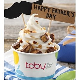 Free TCBY Frozen Yogurt for Father's