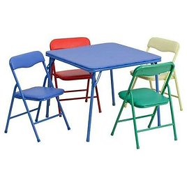 Flash Furniture Blue Square Kid's Play Table Lowes.com