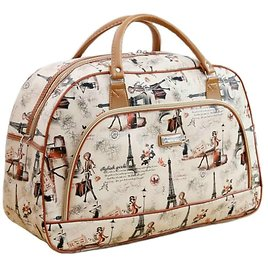 US $11.0 50% OFF|Women Travel Bags 2020 New Fashion PU Leather Large Capacity Waterproof Print Luggage Duffle Bag Casual Travel Bags LGX28.|travel Bag|trolley Travel Bagsuitcase Travel Bag - AliExpress