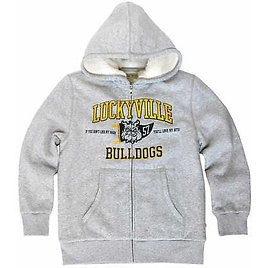 Lucky Youth Full Zip Graphic Hoodie