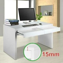 Home Office Computer Desk Laptop PC Desktop Table Workstation With 2 Drawers