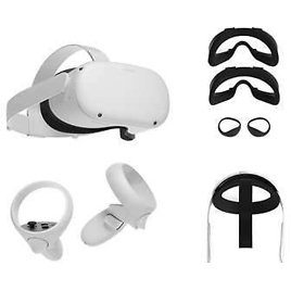 Pre-Order! Oculus Quest 2 All-In-One VR Headset - Elite Strap and Fit Pack Included - 256GB