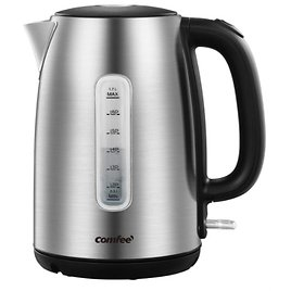 Comfee Stainless Steel Cordless Electric Kettle 1.7 Liter