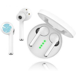 Wireless Bluetooth 5.0 Earbuds HIFI Waterproof Fast Connection Noise Cancelling