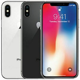 Apple IPhone X - 64GB - Factory GSM Unlocked T-Mobile AT&T 4G LTE- All Colors