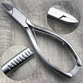 """5"""" STRAIGHT Shape Stainless Steel Toe Nail Cutter/Clipper With Lockable Handle."""